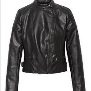 Banana Republic NWOT Vegan Leather Moto Jacket